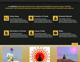 #44 para Design a Website Mockup for Bhagvad Yoga Website por StdioRelations