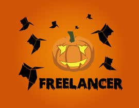 #32 cho Halloweenify the Freelancer.com Logo! bởi colbeanustefan