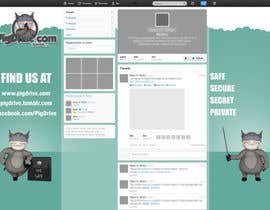 #9 untuk Design a Twitter background for pigdrive.com oleh akshayehyanki