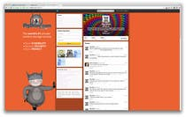 Contest Entry #4 for Design a Twitter background for pigdrive.com
