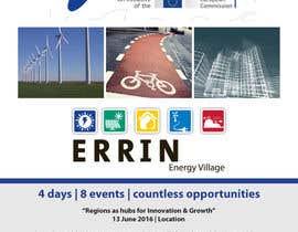 Nro 14 kilpailuun Design an events brochure käyttäjältä rcoco