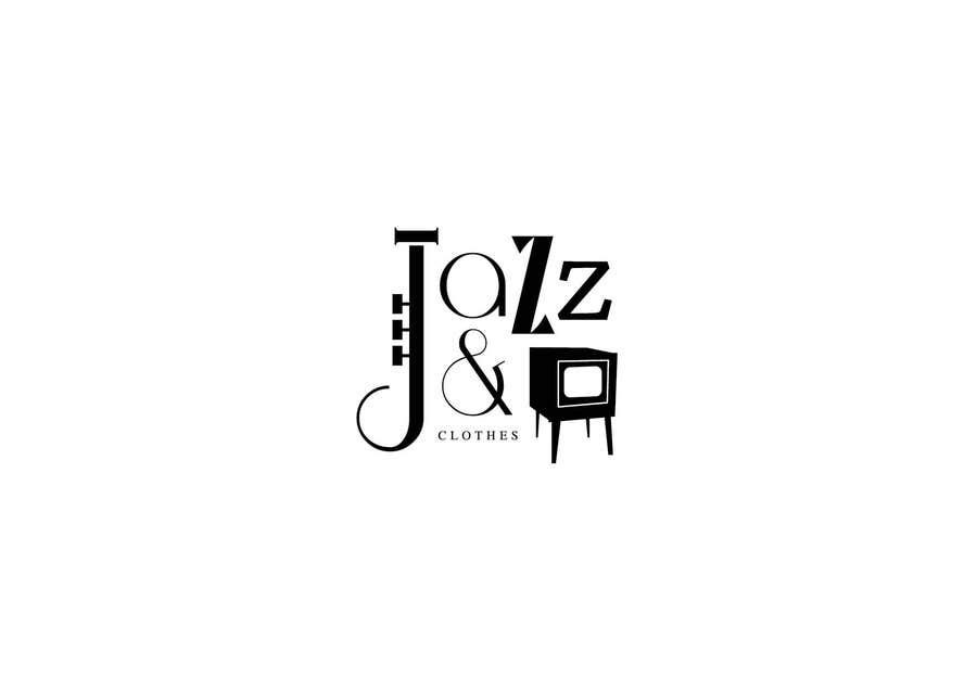 entry 44 by zigulidesign for logo design for jazz tv clothes rh freelancer com clothing brand logo maker clothing brand logo maker