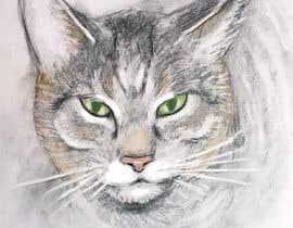 Nro 49 kilpailuun Make An Illustration (Vector or Hand Drawn) of My Cat käyttäjältä Tszocske