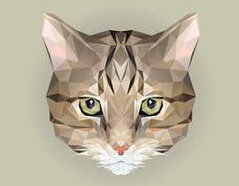 Nro 38 kilpailuun Make An Illustration (Vector or Hand Drawn) of My Cat käyttäjältä Vivali