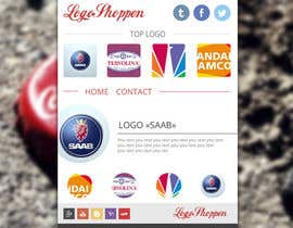 #4 para Build a single page Website, logoshoppen.se por AndyBag