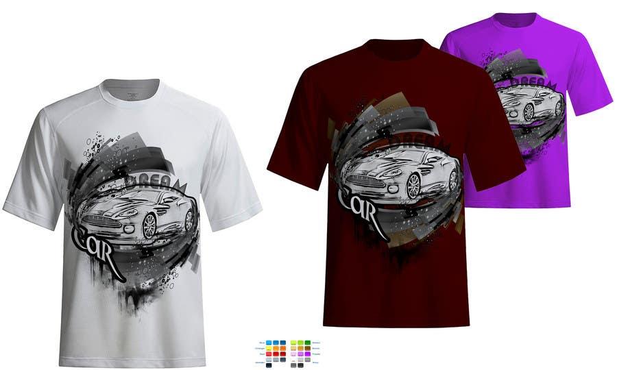 #14 for Design en T-Shirt for Car fans! by ingutza