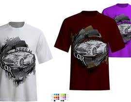 #14 cho Design en T-Shirt for Car fans! bởi ingutza