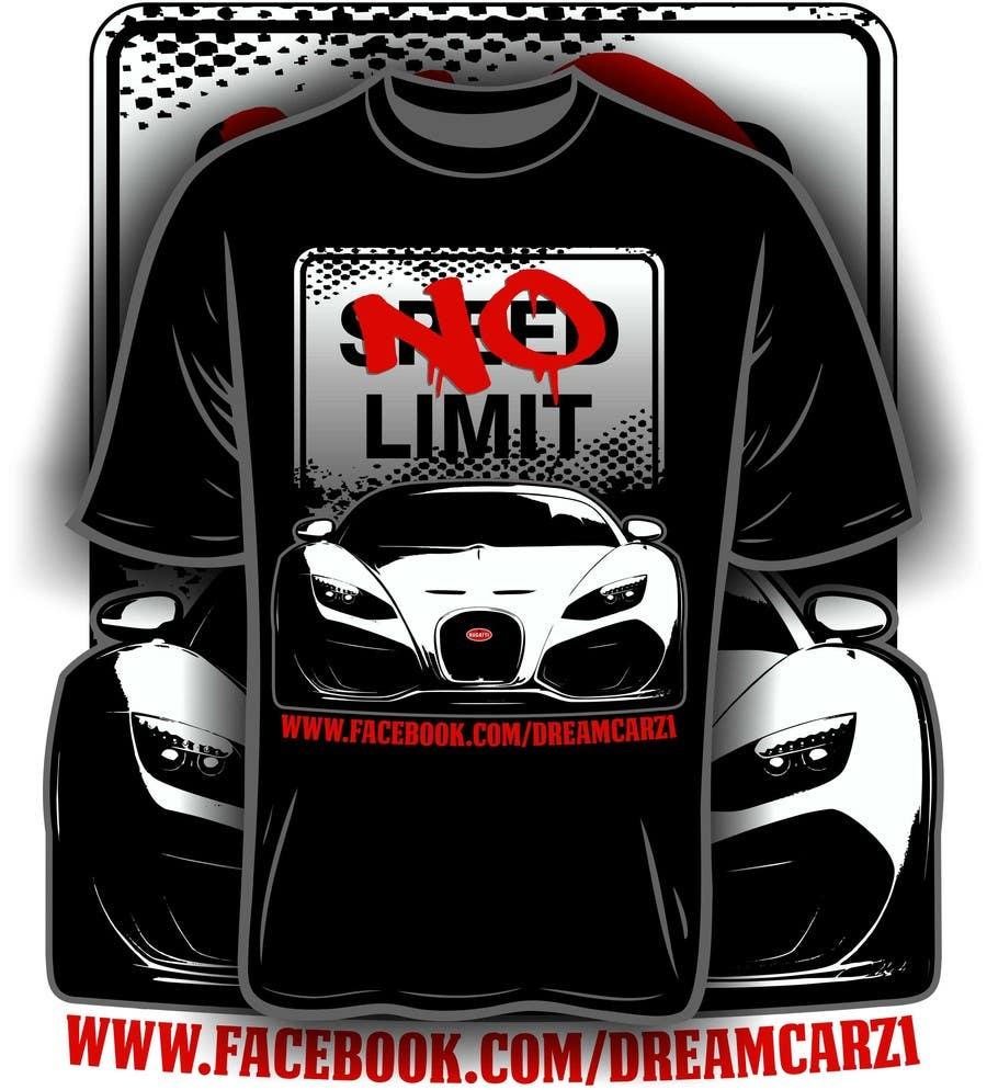 #17 for Design en T-Shirt for Car fans! by iYNKBRANE
