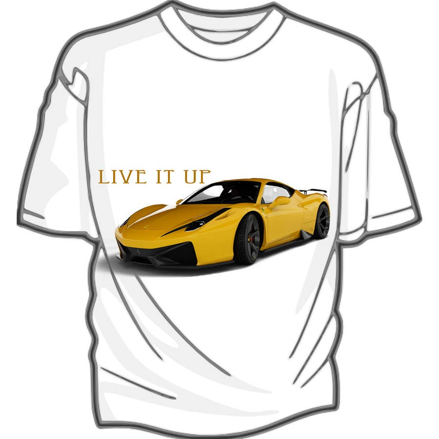 #1 for Design en T-Shirt for Car fans! by naveendasappa