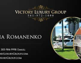 #4 for Design some Business Cards for Victory Luxury Group by zlostur
