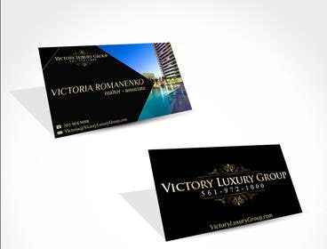 #10 for Design some Business Cards for Victory Luxury Group by anacristina76