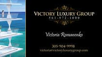 #5 for Design some Business Cards for Victory Luxury Group by lancer555
