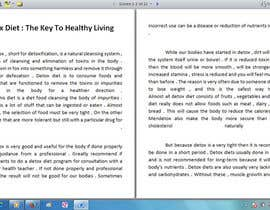 #7 para Write some Articles for Rawfood / Detox por evanuril