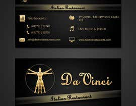 #9 for Design some Business Cards for Italian restaurant af stniavla