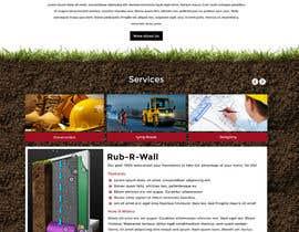 Nro 10 kilpailuun Construction company website käyttäjältä greenarrowinfo