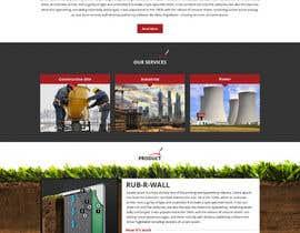 Nro 20 kilpailuun Construction company website käyttäjältä Bkmraj