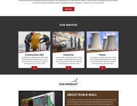 Nro 54 kilpailuun Construction company website käyttäjältä Bkmraj