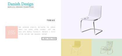 #8 para Design a Website Mockup for new furniture center in Thailand por zicmedia