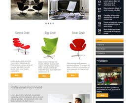#3 para Design a Website Mockup for new furniture center in Thailand por xahe36vw