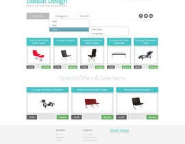 #4 for Design a Website Mockup for new furniture center in Thailand af robrichardson