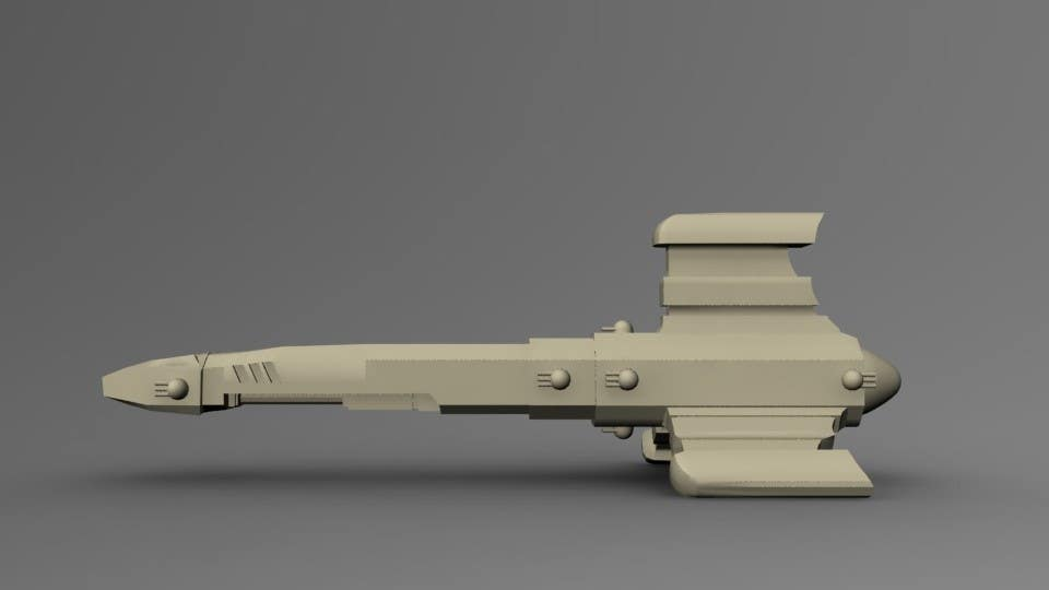 #3 for Do some 3D Modelling for a SciFi Video Game by OxideAnimation