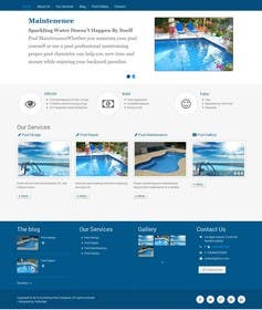 #35 for Wordpress Template For Swimming Pool Company af fathimak