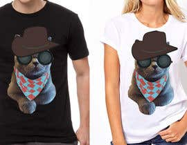 #24 for Design a Cat t-shirt by sandrasreckovic