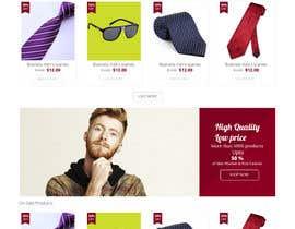 Nro 10 kilpailuun Design a Website Mockup käyttäjältä bellalbellal25