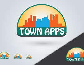 #46 for Logo for TownApps by nareshitech