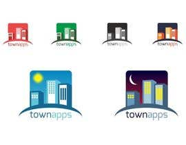 #23 for Logo for TownApps by niccroadniccroad