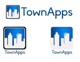 nº 40 pour Logo for TownApps par Spikey21