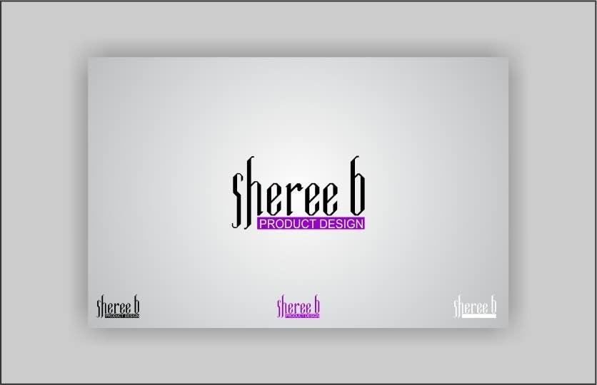 """Intrarea #256 pentru concursul """"Logo Design for Sheree B Product Design"""""""
