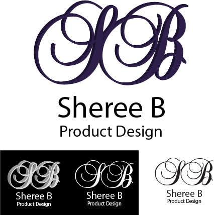 """Intrarea #123 pentru concursul """"Logo Design for Sheree B Product Design"""""""