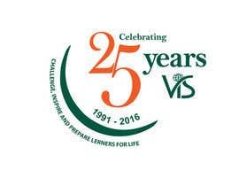 afsana2324 tarafından 25th anniversary school logo için no 25