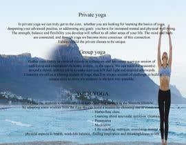 stcserviciosdiaz tarafından Design a brochure: private yoga teaching için no 12