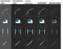 jhosser tarafından Create 10 vectorials CAD icons için no 11