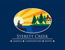 #35 untuk Design a Logo for a combination marina, campground and motel oleh ageek116