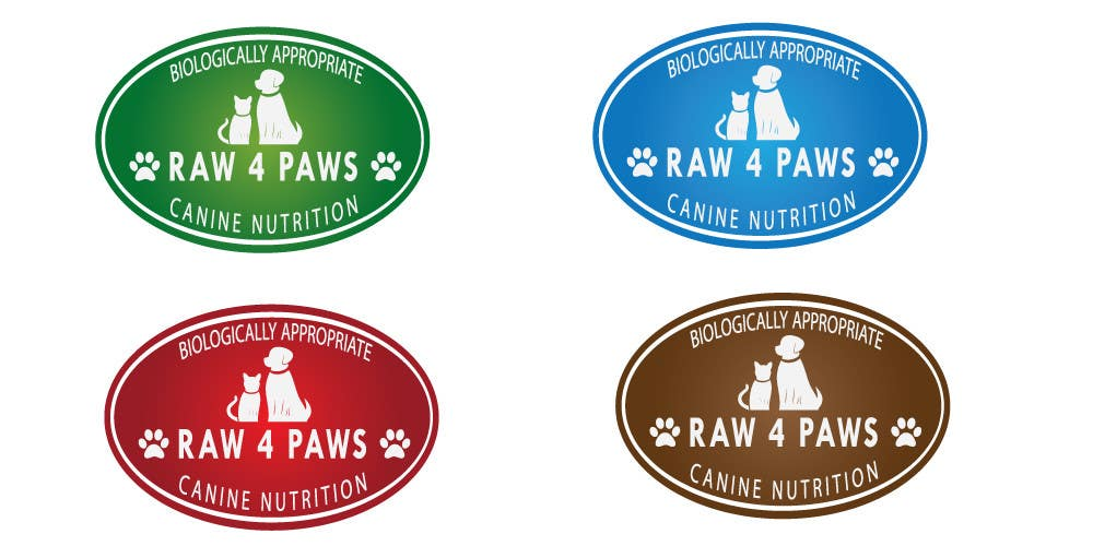 #31 for Develop a Corporate Identity for Raw Pet Food Company by ccet26
