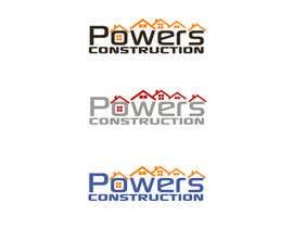 Nro 73 kilpailuun Design a Modern Logo for Powers Construction käyttäjältä ikari6