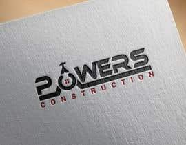 Nro 58 kilpailuun Design a Modern Logo for Powers Construction käyttäjältä MridhaRupok
