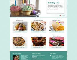 #31 for Wordpress Theme Design for Melanies Amazing Cakes af tuanrobo