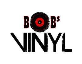 Nro 17 kilpailuun Vinyl Record Store Logo käyttäjältä Maroona