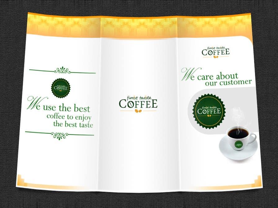 Penyertaan Peraduan #49 untuk Stationery Design for First taste Coffee