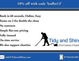 #29 cho Design a Flyer for Tidy and Shiny Cleaning bởi designerdesk26