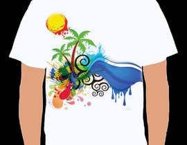 Nro 54 kilpailuun T Shirt Summer Design käyttäjältä yead4