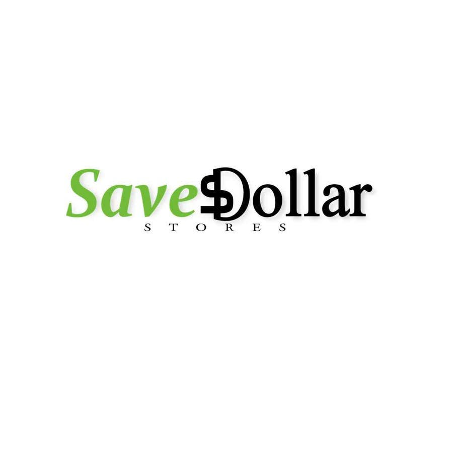 #189 for Design a Logo for Save Dollar Stores by zrbappy