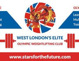 Nro 36 kilpailuun Facebook, Website banner for olympic weightlifting gym käyttäjältä rashmarahman