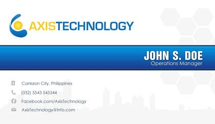Graphic Design Contest Entry #103 for Inspiring Business Card & logo Design for Technology company