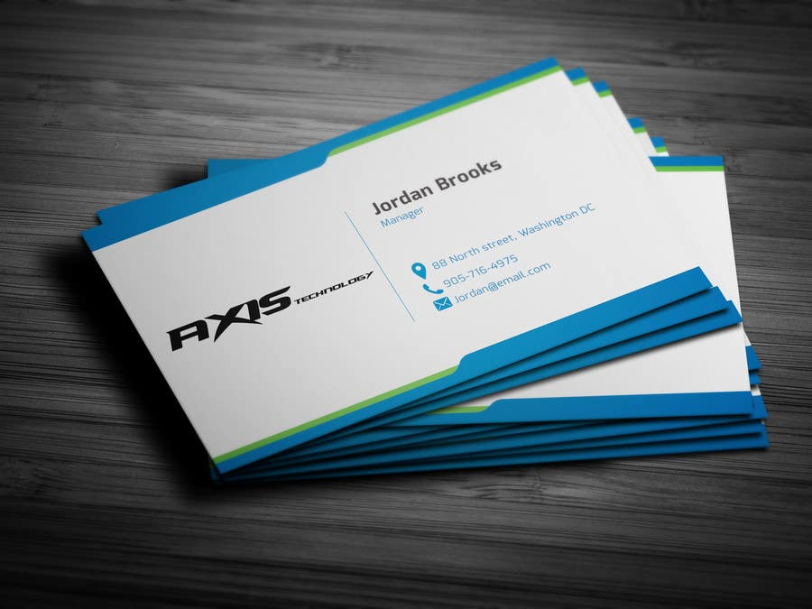 #111 for Inspiring Business Card & logo Design for Technology company by onlyyasad