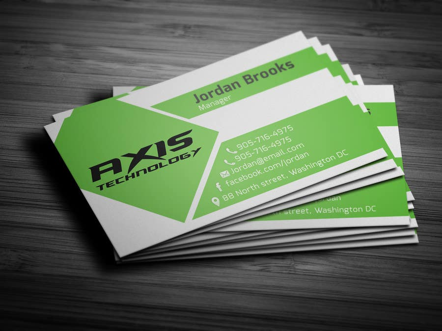 #121 for Inspiring Business Card & logo Design for Technology company by onlyyasad